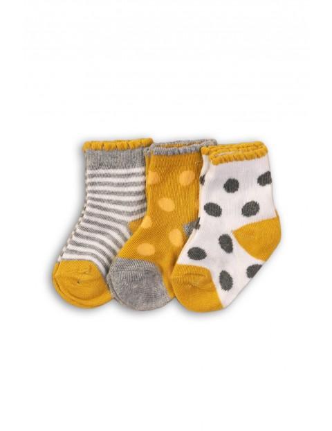 Skarpetki dla niemowlaka 3pak