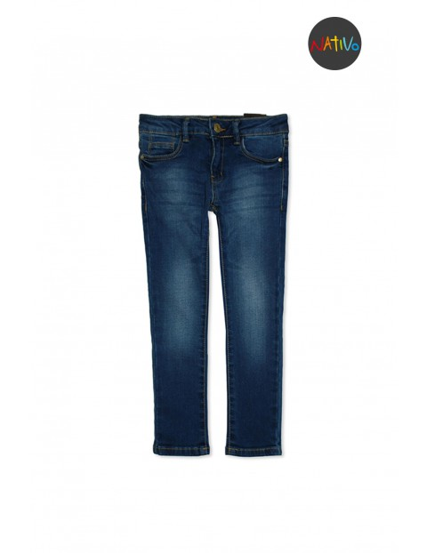 Spodnie dziewczęce 4L2935