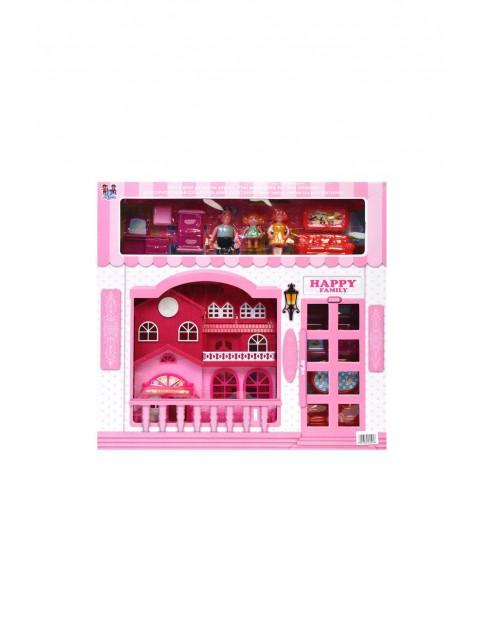 Domek zabawka różowy 3Y31AS