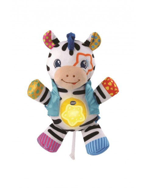 Przebojowa Zebra- zabawka edukacyjna V-tech wiek 0msc+