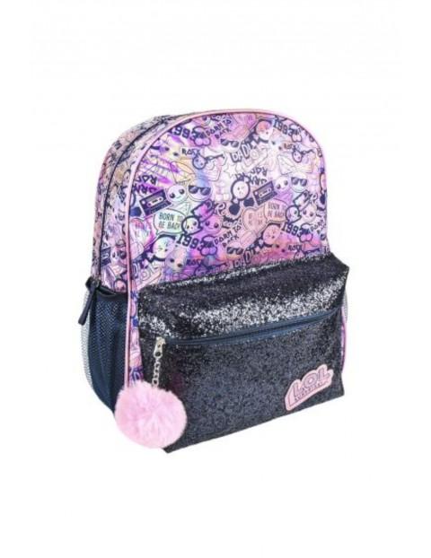 Plecak fashion LOL Surprise- fioletowy