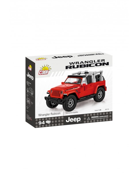 Klocki COBI Jeep Wrangler Rubicon-zestaw 94elementy