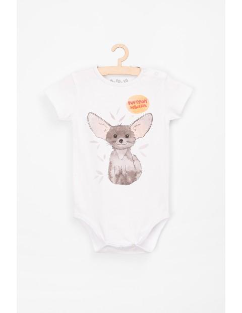 Body dla niemowlaka białe z polskim napisem