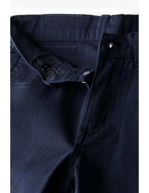 Spodnie chłopięce klasyczne - czarne