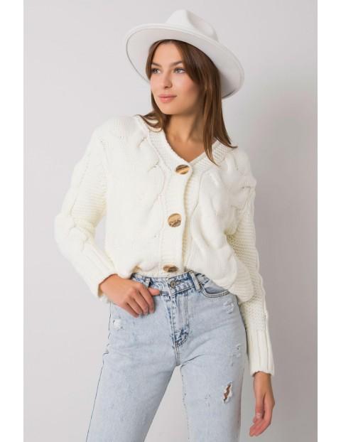 Sweter damski zapinany na guziki