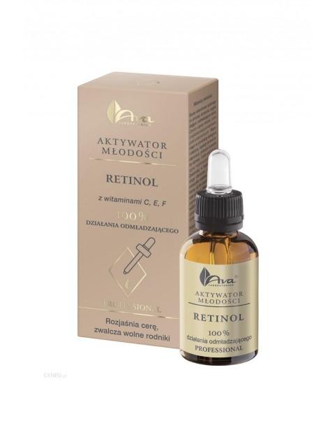 Aktywator do twarzy z retinolem 100% działania odmładzającego - Aktywator Młodości - 30 ml