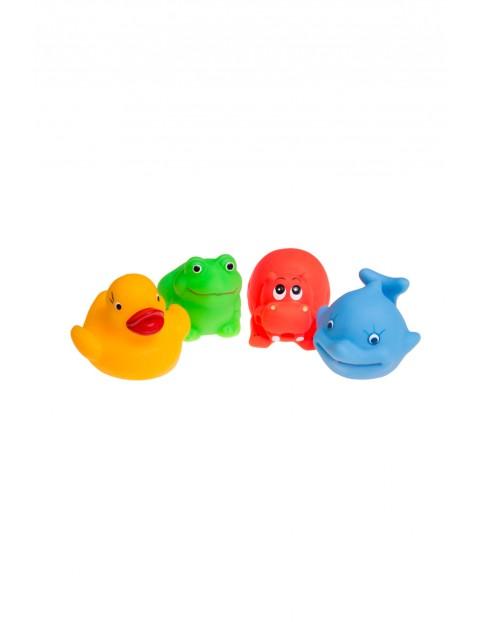 Zabawki do kąpieli kolorowe zwierzątka 4 szt