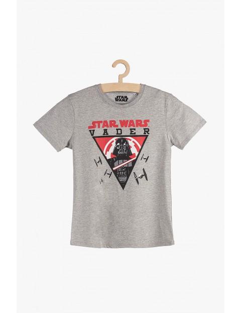 T-Shirt chłopięcy Star Wars Vader szary