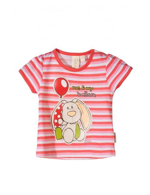 Koszulka niemowlęca w paski Nici