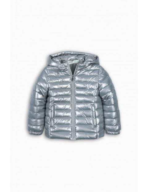 Pikowana kurtka dla dziewczynki rozm 92/98