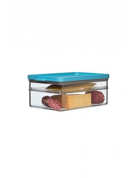 Pojemnik na wędliny i sery OMNIA 2-poziomowy GREEN