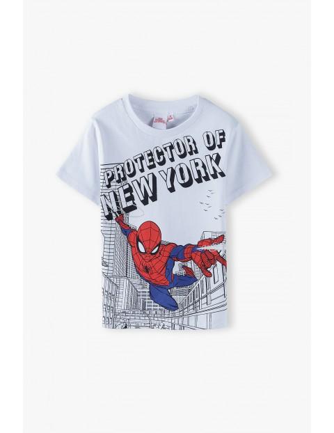 T-shirt chłopięcy Spider-Man biały