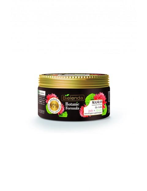 BOTANIC FORMULA Imbir + Dzięgiel Masło do ciała Bielenda - 250 ml