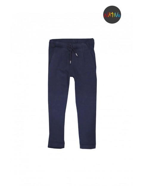 Spodnie dresowe dziewczęce 3M2957