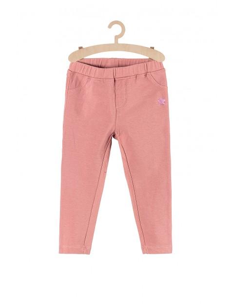 Spodnie dresowe dla dziewczynki- różowe