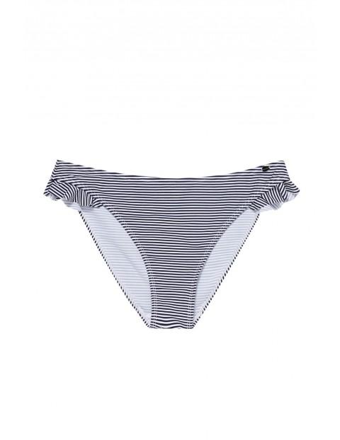 Dół od bikini w czarno - białe paski