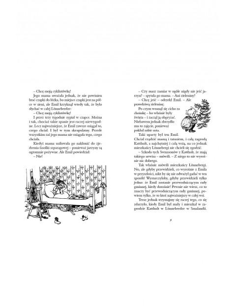 Książka dziecięca - Przygody Emila ze Smalandii