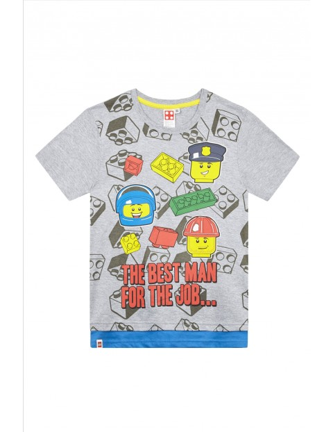 Koszulka chłopięca szara Lego City