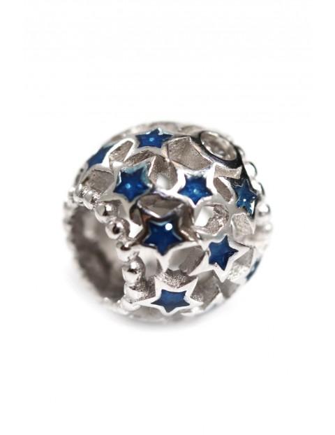 Beads Blue Star - zawieszka niebieska gwiazda