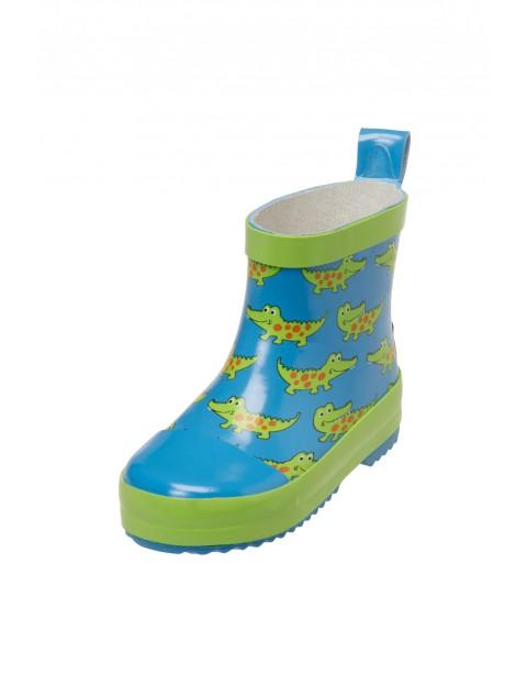 Kalosze krótkie dla dziecka-krokodyl