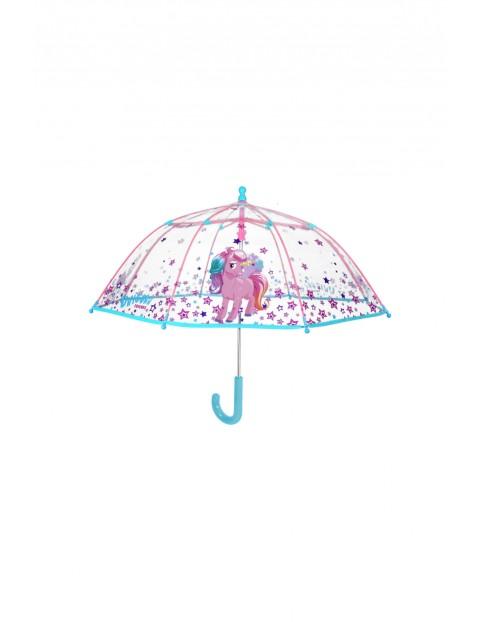 Parasol dziewczęcy Jednorożec