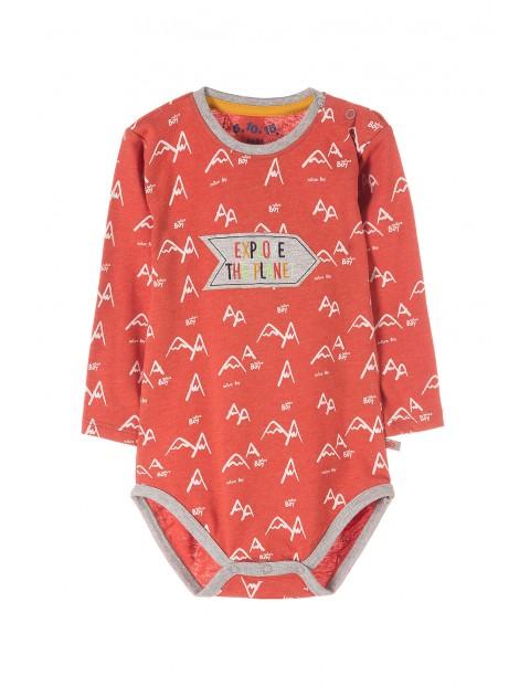 Body niemowlęce z długim rękawem 5T3522