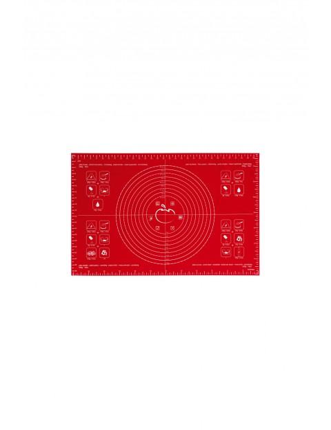 Stolnica silikonowa 40 x 60 cm - czerwona