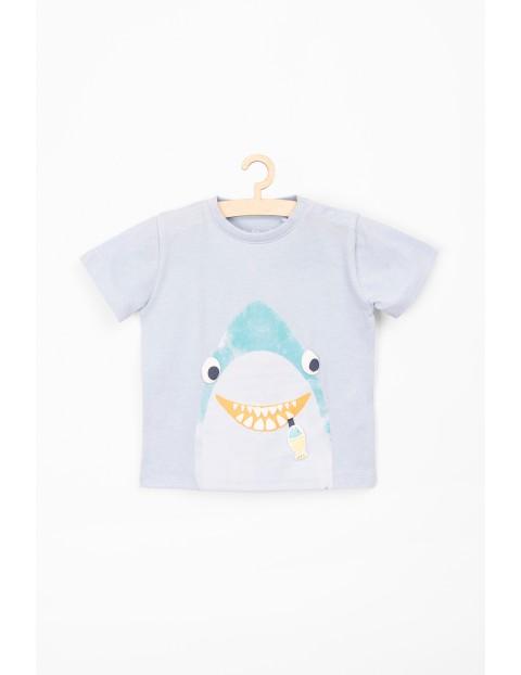 Koszulka dla niemowlaka z rekinem