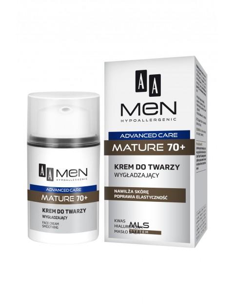 AA Men Advanced Care Mature 70+ Krem do twarzy wygładzający 50 ml