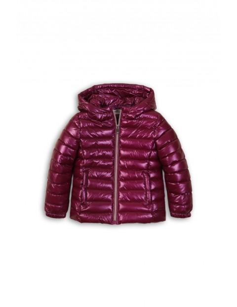 Pikowana kurtka dziewczęca