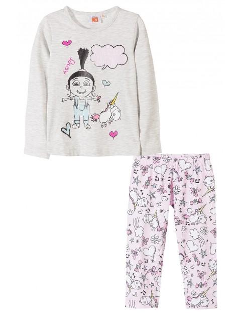 Pidżama dziewczęca Minionki 4W35A5