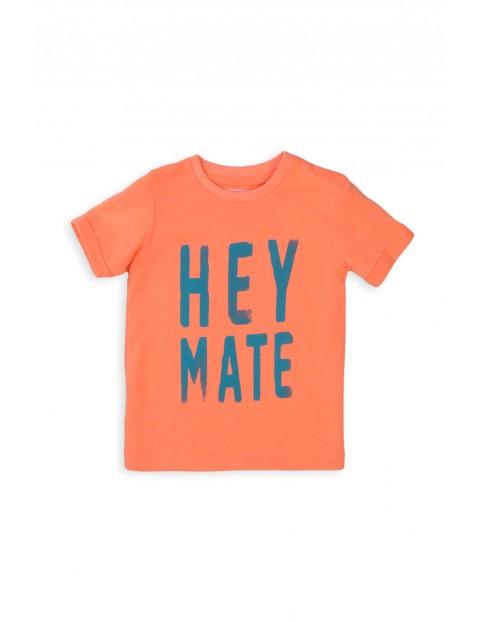 T-shirt niemowlęcy z napisem- Hey Mate