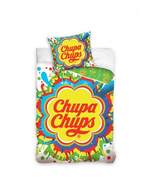 Pościel bawełniana 160x200+70x80cm Chupa Chups