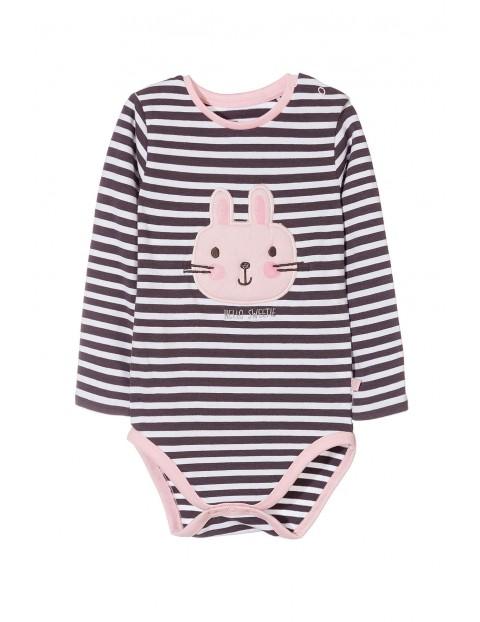 Body niemowlęce z długim rękawem 5T3526