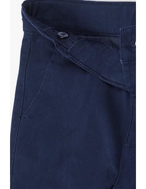Eleganckie spodnie chłopięce czarne
