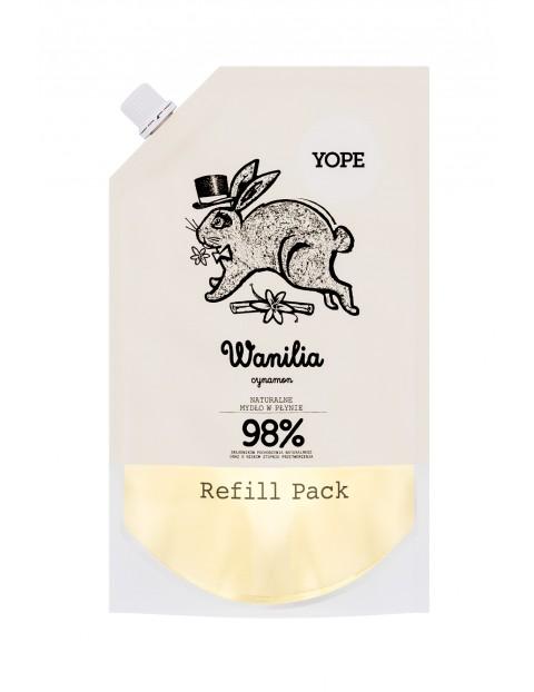 YOPE Refill Mydło Wanilia 500ml