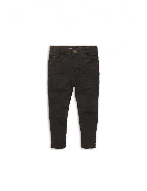 Jeansowe czarne spodnie dla niemowlaka