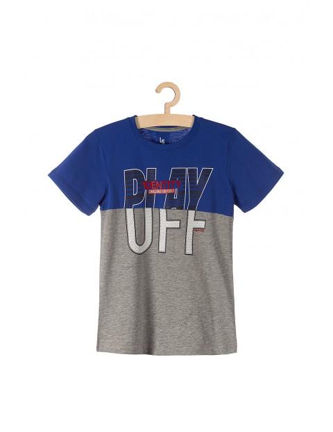 T-shirt dzianinowy dla chłopca Play-Off