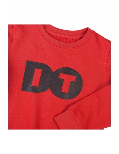 Bluza dresowa chłopięca czerwona- Do it