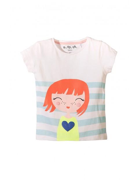 T-shirt dziewczęcy 3I3424