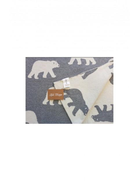 Kocyk niemowlęcy Niedźwiadek 5O35EJ