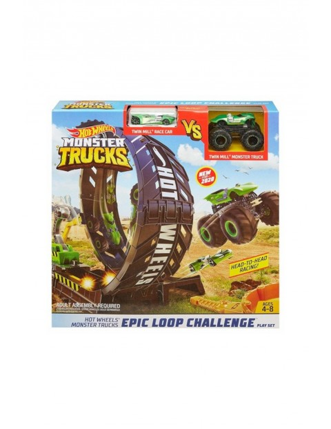 Hot Wheels Monster Truck - pętla i pojazd wiek 4+