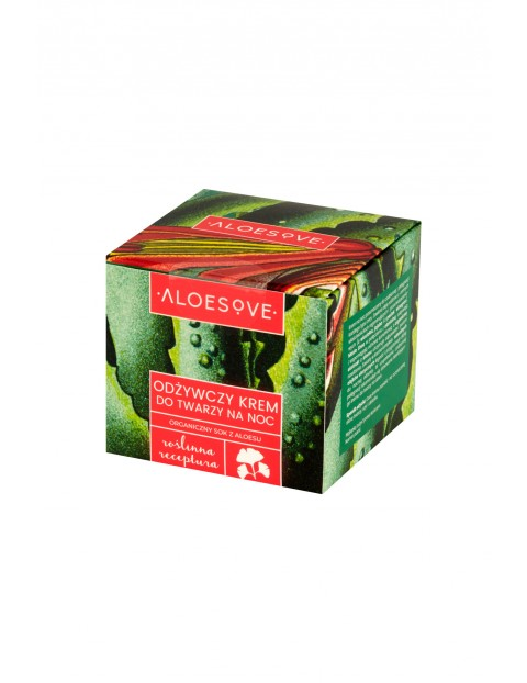 Odżywczy krem do twarzy na noc Aloesove 50 ml