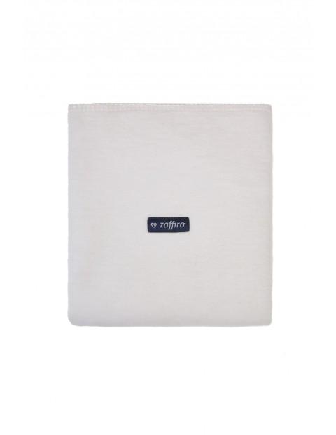 Koc bawełniany biały 75 x 100 cm