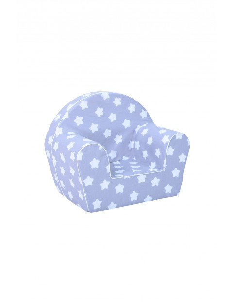 Niebieski fotelik z gwiazdki