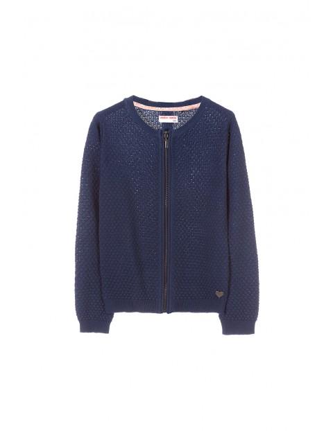 Sweter dziewczęcy 4C3301
