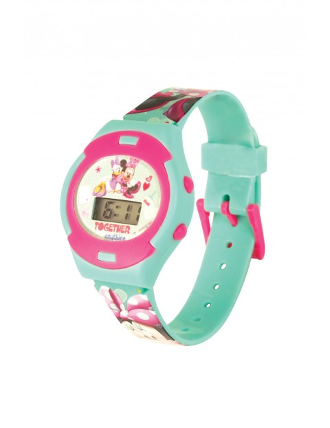 Zegarek cyfrowy dla dziewczynki Minnie