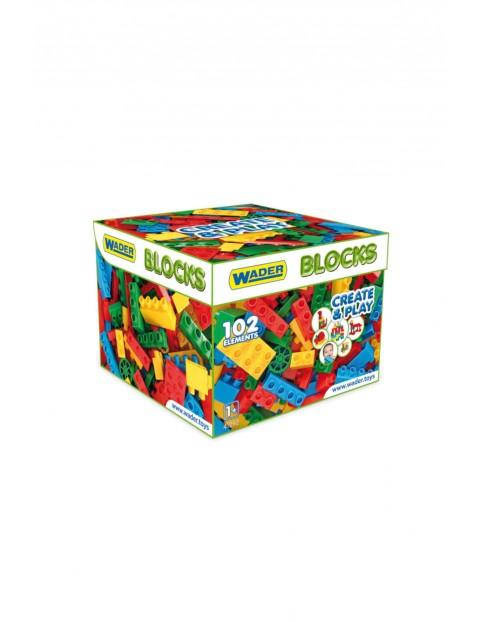 Klocki Blocks CREATE&PLAY 100el