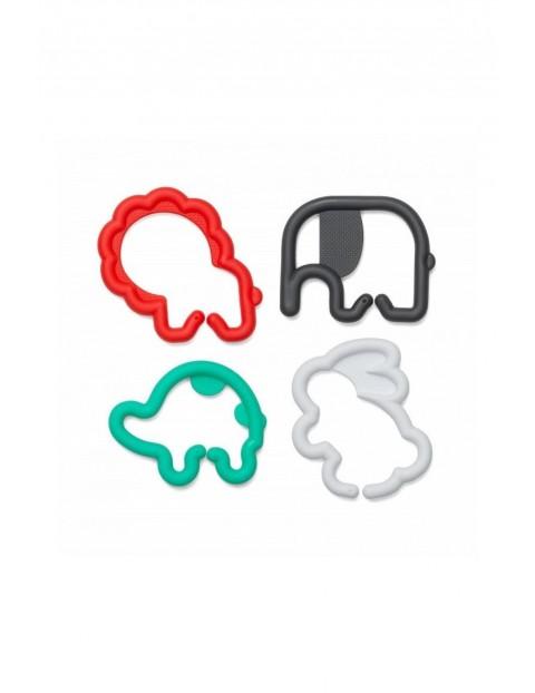 Gryzaczki w kształcie zwierzątek 0msc+