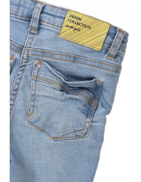 Spodnie jeansowe dziewczęce - niebieskie